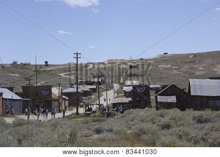 Bodie Ghost Town city overview