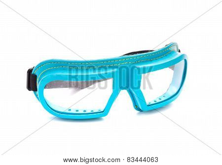 Protective glasses.