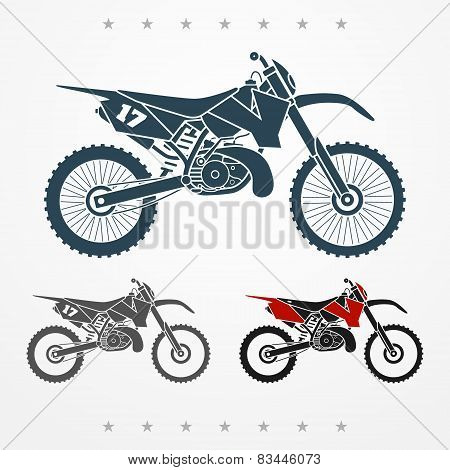 Cross motorcycle