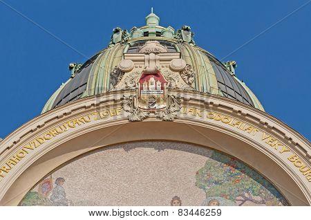 Municipal House Facade