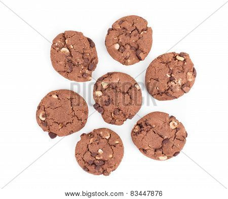round wholewheat biscuits