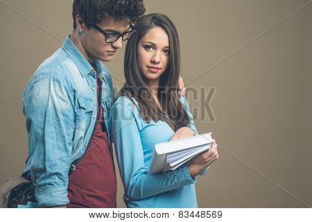 Happy Teenager Students