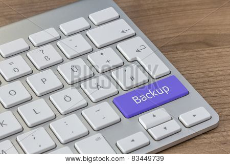 Backup On Modern Keyboard