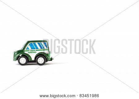 Forest Rangers Toy Car