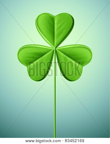 Isolated Shamrock