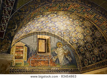 Ravenna Mausoleum Of Galla Placidia