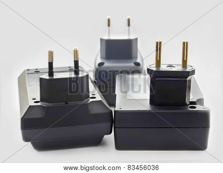 Three Battery Chargers