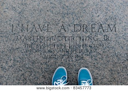 I Have A Dream, Inscription, Lincoln Memorial