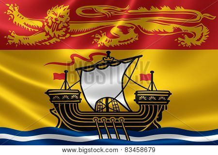 New Brunswick Provincial Flag Of Canada