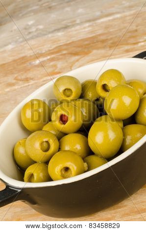 Stuffed Olives Tapa