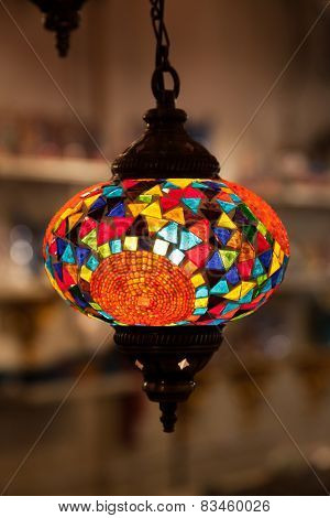 Traditional Oriental Lamp