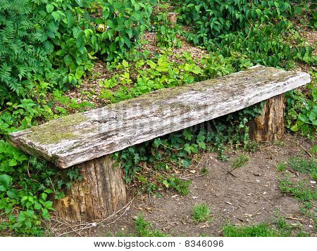 Old Wooden Seat