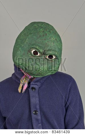 Lizard Mask Sweater