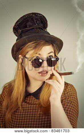 Cute Girl Tramp