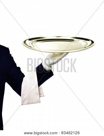 Waiter Serving