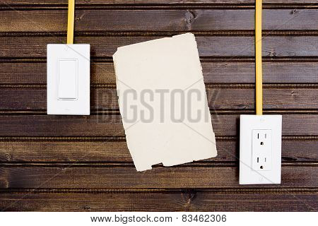 Wall With Adjustable Sockets