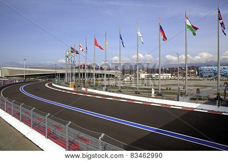 Sochi International Street Circuit.
