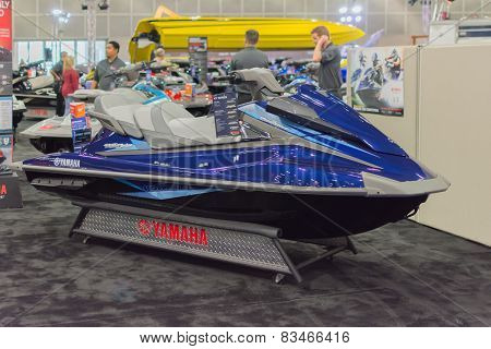 Yamaha Vx Cruiser On Display