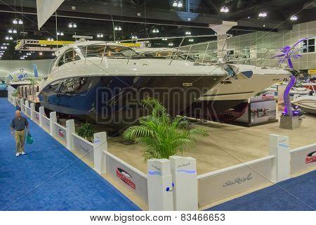 Sea Ray Boats On Display