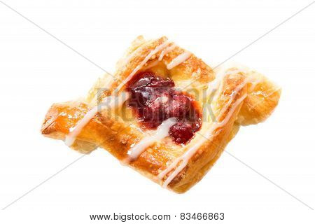 Cherry Danish Pastry  Breakfest Sweet
