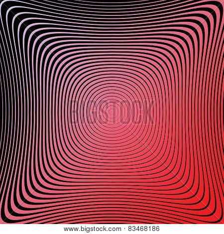 Design Colorful Circular Lines Background