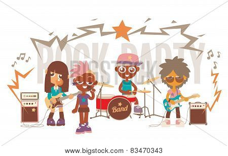 rock band show
