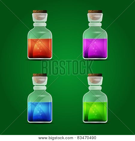 Vector magic potion