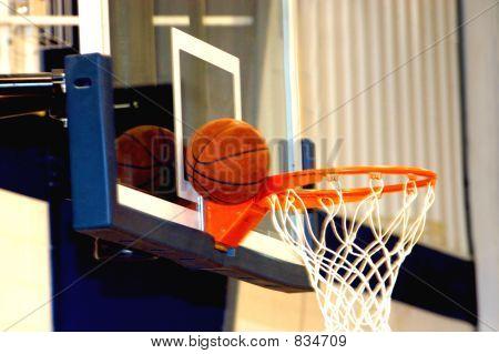 Basketball Stuck!