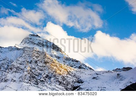 Mountain Snow Landscape Nature