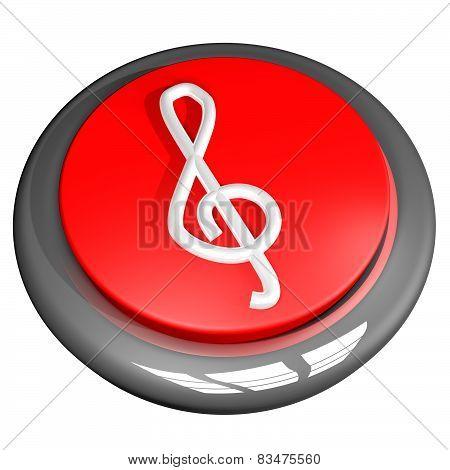 Violin Key Button