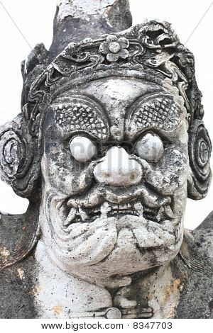 Devil Statue In Chinese Style__