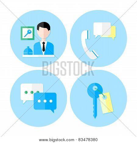 Personal Service Icon Set