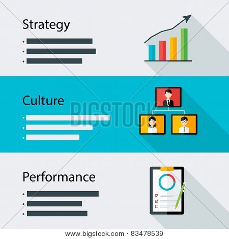 Strategy Culture Performance Business Template