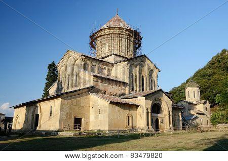 Main Church In Gelati Monastery Near Kutaisi ,imereti, Western Georgia, Unesco Heritage Site