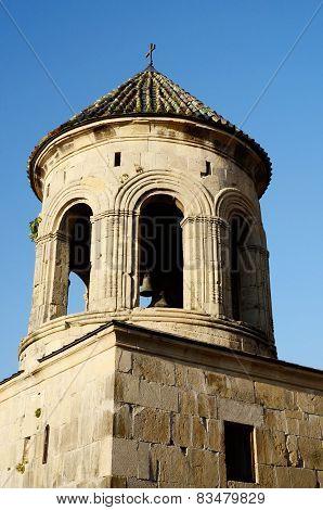 Bell Tower In Gelati Monastery Near Kutaisi ,imereti, Western Georgia, Unesco Heritage Site