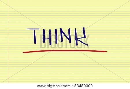 Thinking Concept