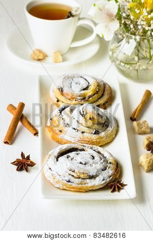 Rolls With Cinnamon