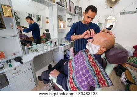 Shaving A Client