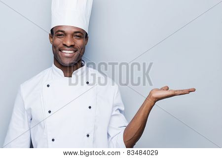 Cheerful Chef.