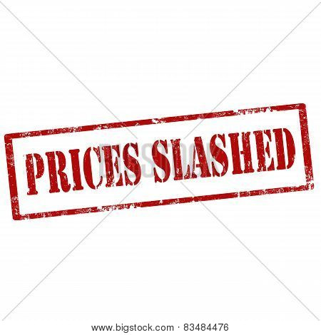 Prices Slashed-stamp