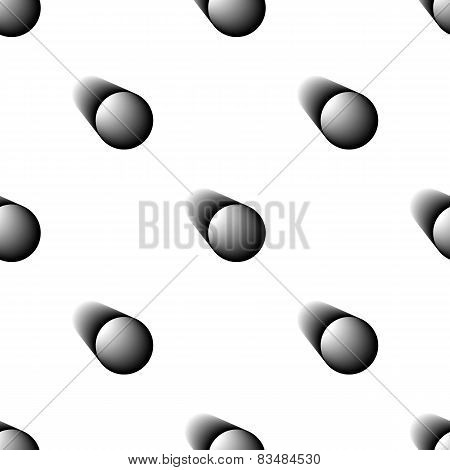 Abstract seamless vector background. Black pipe.