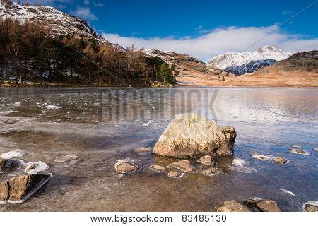 Frozen Blea Tarn