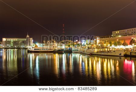 Boats In The Kiel Seaport - Germany, Schleswig-holstein