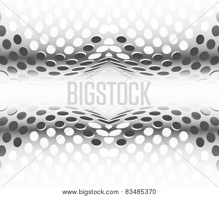 Abstract Background Circles