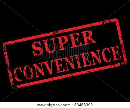 Super Convenience Stamp