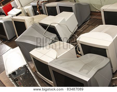 Old Computer Monitors