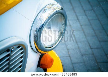 Headlight Old Car