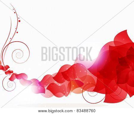 Red Petals Wave