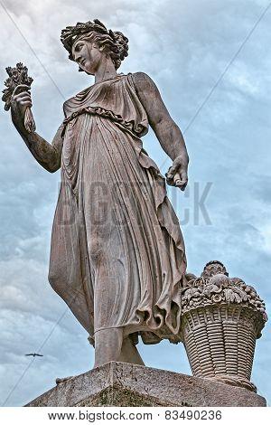 Goddess Of Abundance Statue