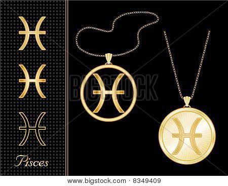 Pisces Medallion & Pendant